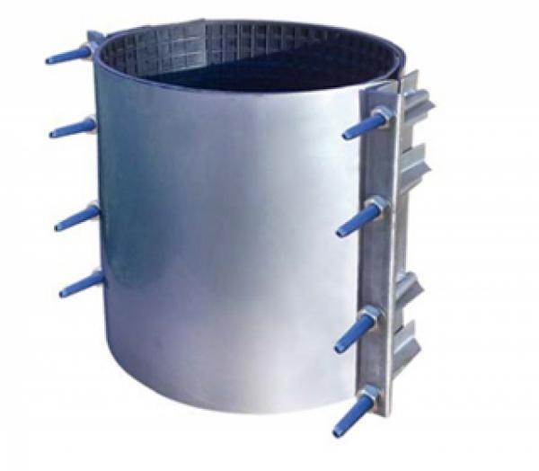 STEEL REPAIR CLAMP WITH O-RING SEAL